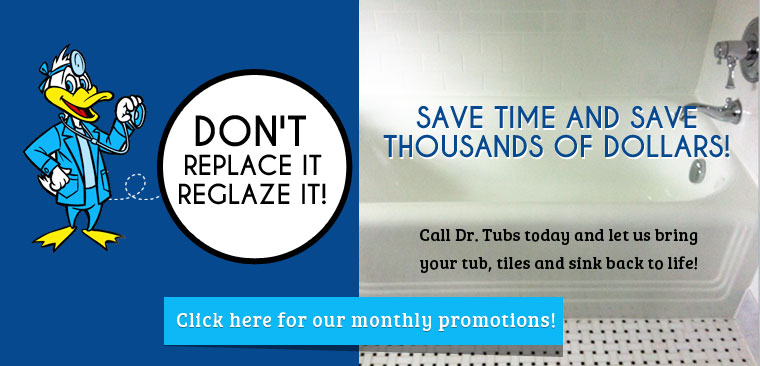 Bathtub Refinishing, Colour and Repair Services in Toronto, ON