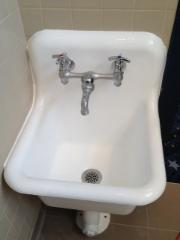 Mop sink Reglaze by Dr Tubs Toronto