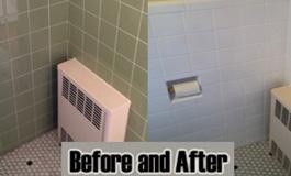 Full bathroom reglazing by Dr Tubs Reglazing
